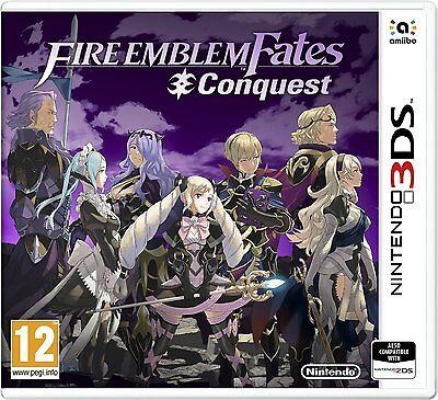 EMBLEMA DE FUEGO sinos : Conquest (Nintendo 3ds) NUEVO PRECINTADO