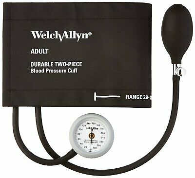 Welch Allyn Ds44-11cb Gauge With Durable Two Piece Cuff And Bladder Adult