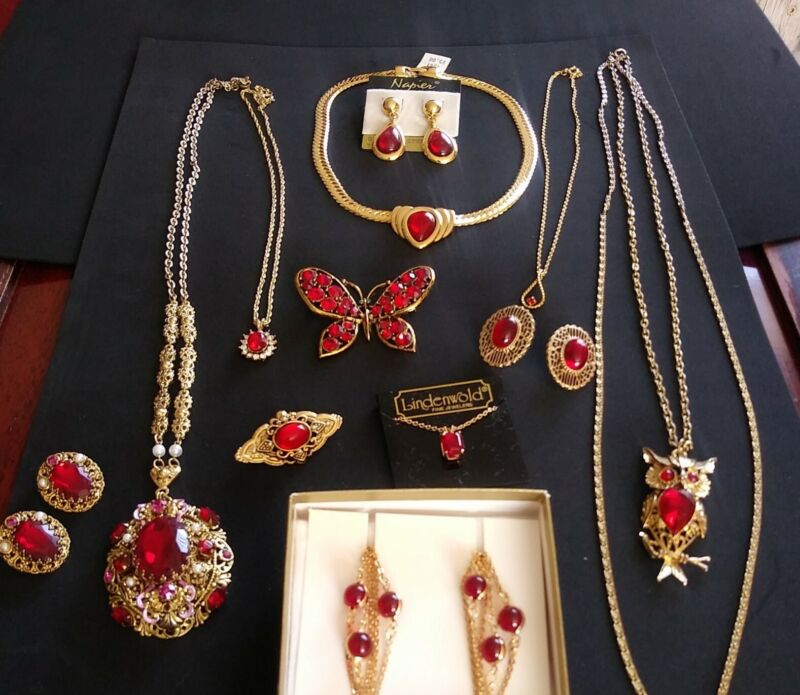 ShinyPinkS Jewelry Collection Red