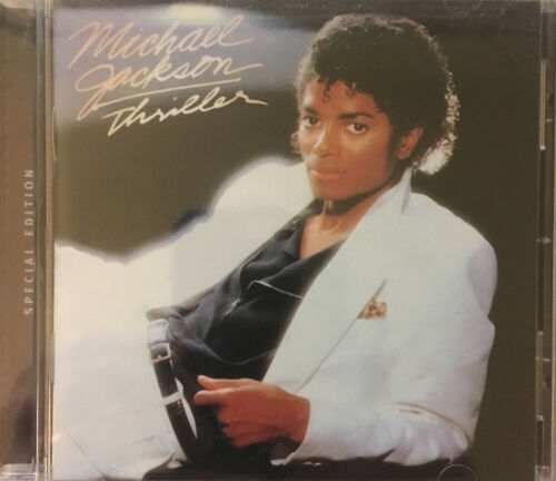 Thriller By Michael Jackson Special Edition Cd Sealed