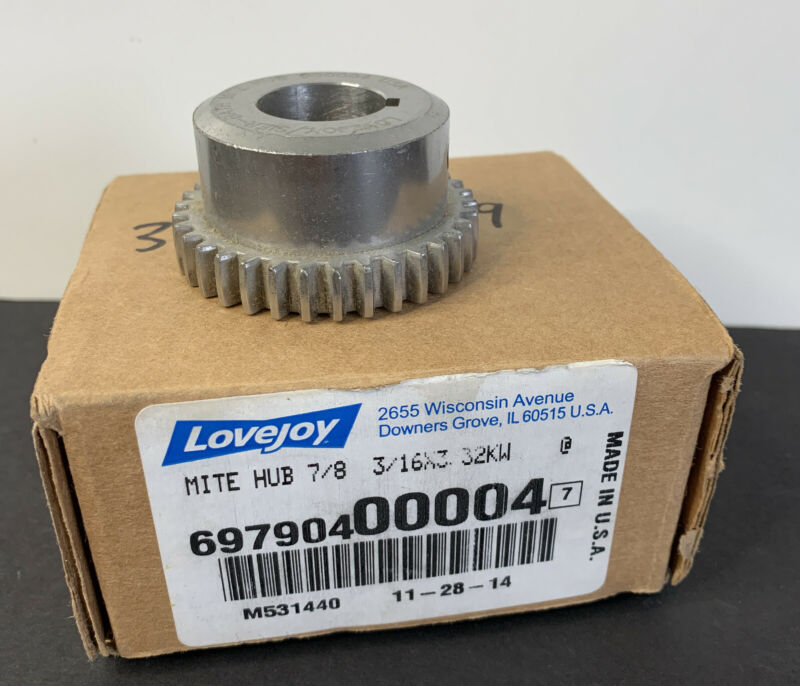 LOVEJOY 6979040004 Mite Hub 7/8 3/16x3 32KW Bath Coupling - NEW