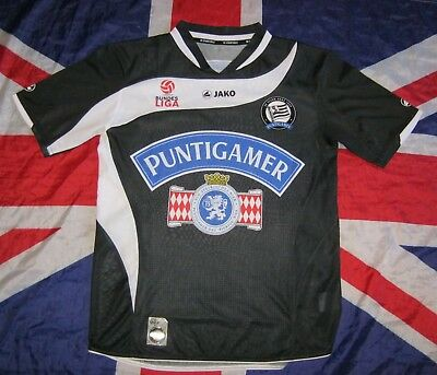 SK Sturm Graz Home football shirt jersey 2010 - 2011 Jako Small Size image