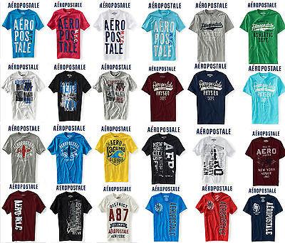 Great Aeropostale T-shirt Xs, M, Xl Black,shite,blue,grey Etc Many Colors