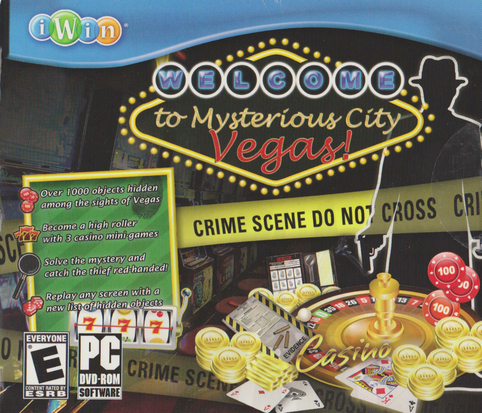 Welcome To Mysterious City Vegas Pc Game Window 10 8 7 Xp Computer Hidden Object