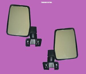 Toyota Landcruiser 60 series Large Door Mirrors Left And Right Hand Side NEW