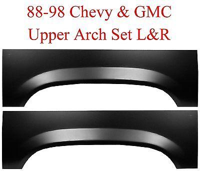88 98 Chevy GMC Upper Rear Wheel Arch Repair Panel Set LR Truck 1500 2500 Truck