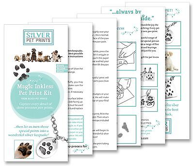 Pet Print Kit, Paw Print Kit - Dogs, Cats, Inkless