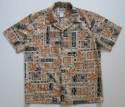 "Vintage Auth 70/80s Howie Hawaii USA Hawaiian Shirt 46""-117cm M (150H)"