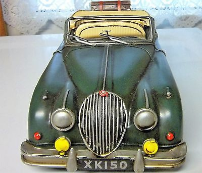JAGUAR XK-150 CREAM IN GREEN L H DRIVE TIN VERY NICE AS SEEN XK-150 GREEN JAGUAR