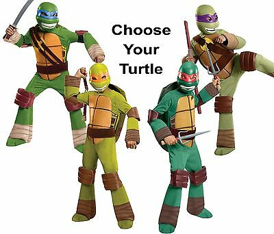 Child Nick TV Show TMNT Teenage Mutant Ninja Turtles Raph Mike Leo / Don Costume - Kids Teenage Mutant Ninja Turtle Costume
