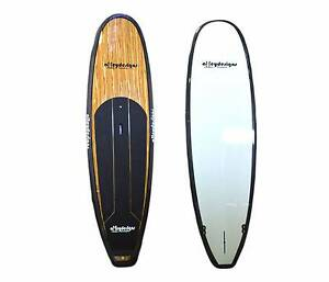 """Stand up paddle board 11'x32"""" Timber /carbon rails Alleydesigns Currumbin Waters Gold Coast South Preview"""