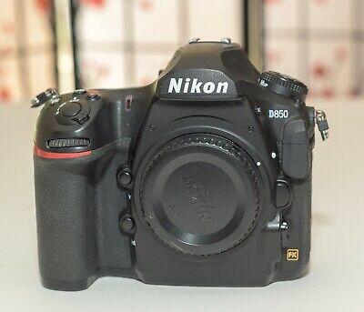 Nikon d850 DSLR body only - Low Shutter Count