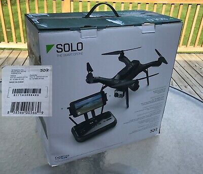3DR Solo RTF Quadcopter Smart Drone for GoPro New in Box with battery Not Flown
