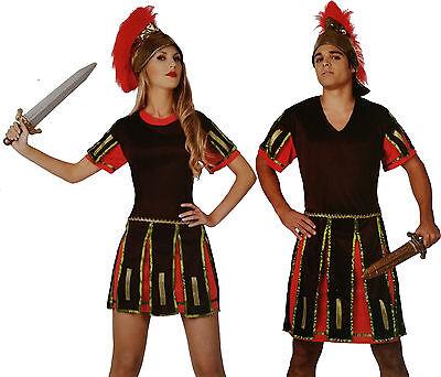 Römischer Gladiator Gr.M/L + Schwert Mann Frau Legionär Krieger Kostüm Kämpfer