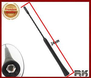 brin embout d 39 antenne autoradio 24 cm pour mercedes classe s slk ebay. Black Bedroom Furniture Sets. Home Design Ideas