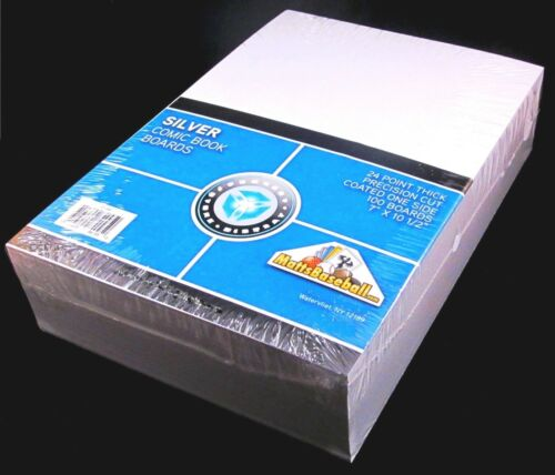 """1000 CSP COLLECT*SAVE*PROTECT Silver 7"""" Boards - 10/100ct PACKS"""