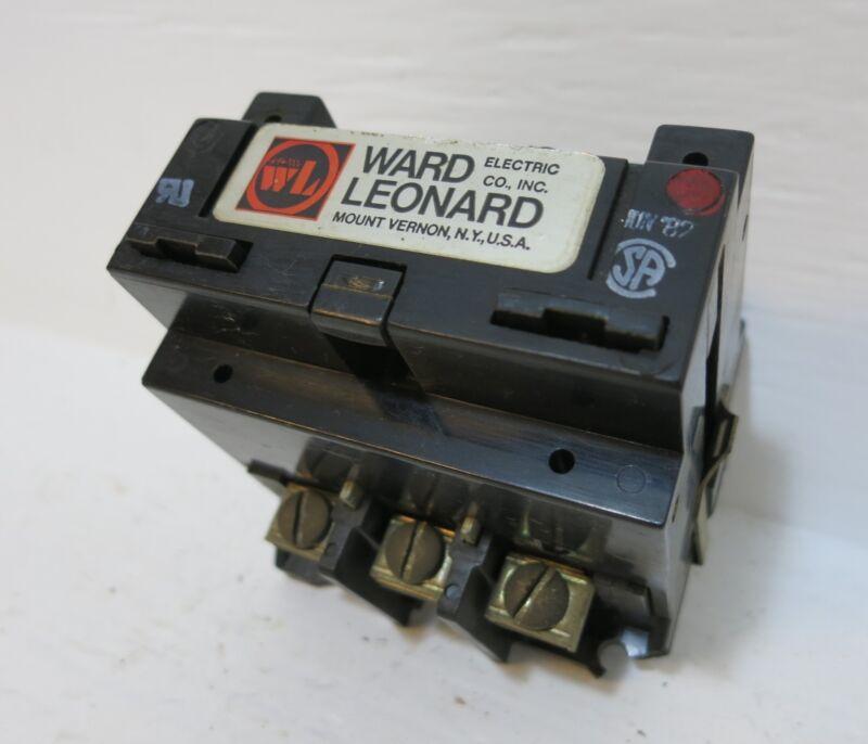 Ward Leonard 7001-7140-11 40A Definite Purpose Contactor 500VDC 120V Coil 40 Amp