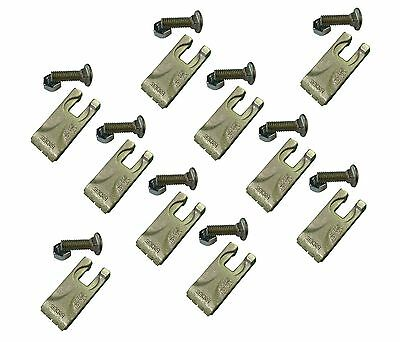 10 - Carbide Auger Teeth 134519 4050 Size Tooth For Pengo Aggressor Auger