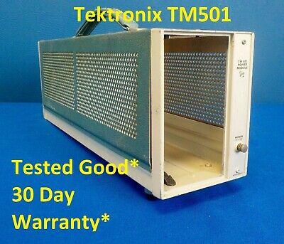 Tektronix Tm501 Single Slot Module Mainframe Tek Tm 501