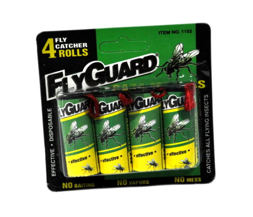 Fly Guard Fly Paper Rolls 4 Pack 1152