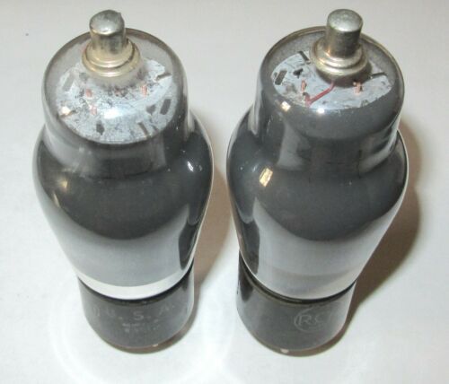 NOS RCA 6F8G  MATCHED PAIR - SWEETER SOUND THAN 6SN7 TUBE