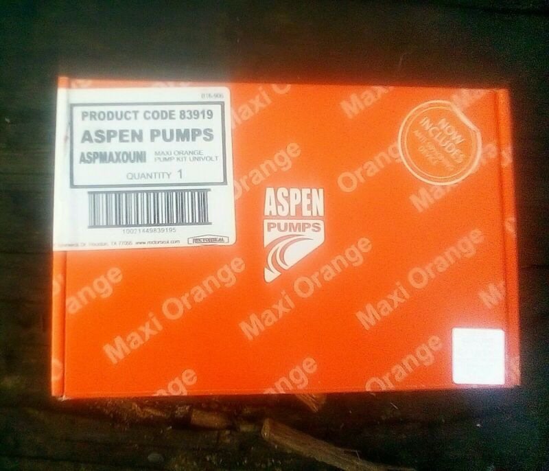 ASPEN MAXI ORANGE CONDENSATE PUMP 83919 *NEW*