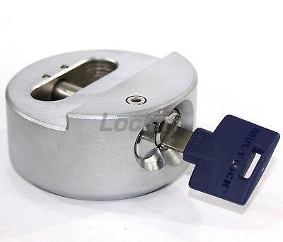 Mul-t-lock Tr100 Hidden Shackle Puck Padlock Interactive Plus Keyway