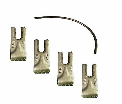 4- Pengo Carbide Auger Teeth W Rubber Quick Lock- Cs Ag Aggressor- 140016