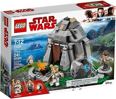 2018 LEGO STAR WARS:LAST JEDI SET #75200 AHCH-TO ISLAND TRAINING NIB XMAS RARE!