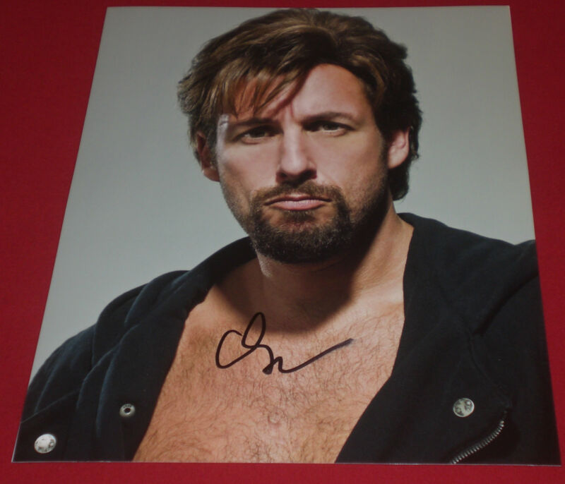 ADAM SANDLER SIGNED DONT MESS WITH ZOHAN FUNNY PROMO PHOTO AUTOGRAPH COA SMUDGED