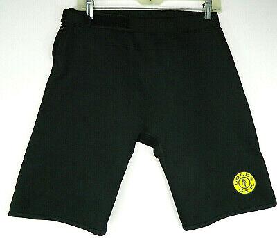 GOLDS GYM Mens M/L Neoprene Shorts Black Gym Lifting Cycling Compression   #8 ()