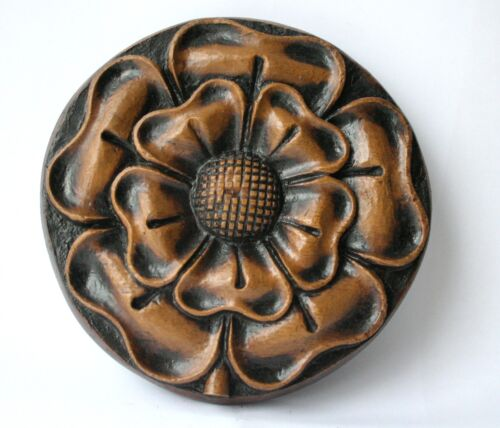 Tudor Rose of Ludlow English Reproduction Church Carving Medieval Collectable UK