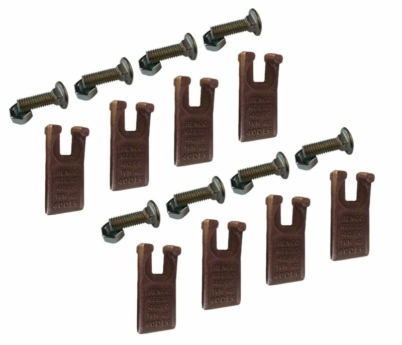 Pengo Auger Tooth - 134501 40/50 Size Tooth for Pengo Aggressor Auger - Set of 8