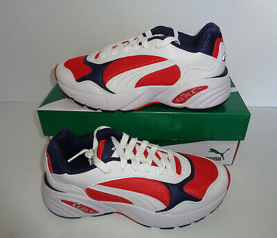 PUMA Cell Viper Ladies White Red Trainers Womens Shoes RRP £75 New UK Size 6