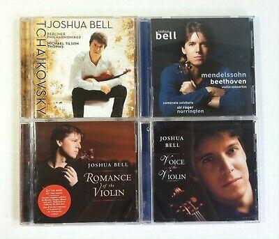 Joshua Bell Romance - Lot 4 Joshua Bell Collection Romance Voice Mendelsshohn Tchaikovsky  (4 CD)