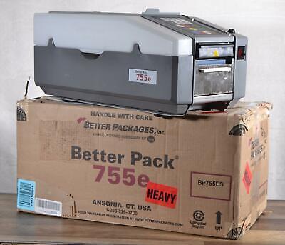 Better Pack 755es Water-activated Gummed Tape Dispenser 115v 6-75 Inches