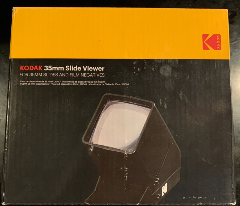 Kodak 35 mm Slide Viewer & Film Negatives