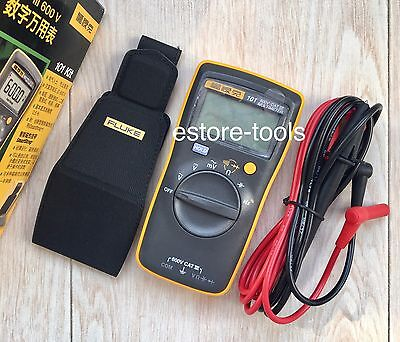 Fluke 101 Kit Palm-sized Digital Multimeter Meter W Smart Strap Usa Seller