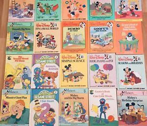 Kids Classic Books - Disney/ Sesame Street