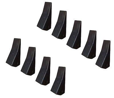 9 Backhoe Skid Steer Mini Ex Bucket Teeth - 23 230 230sp D51750 Tf23d