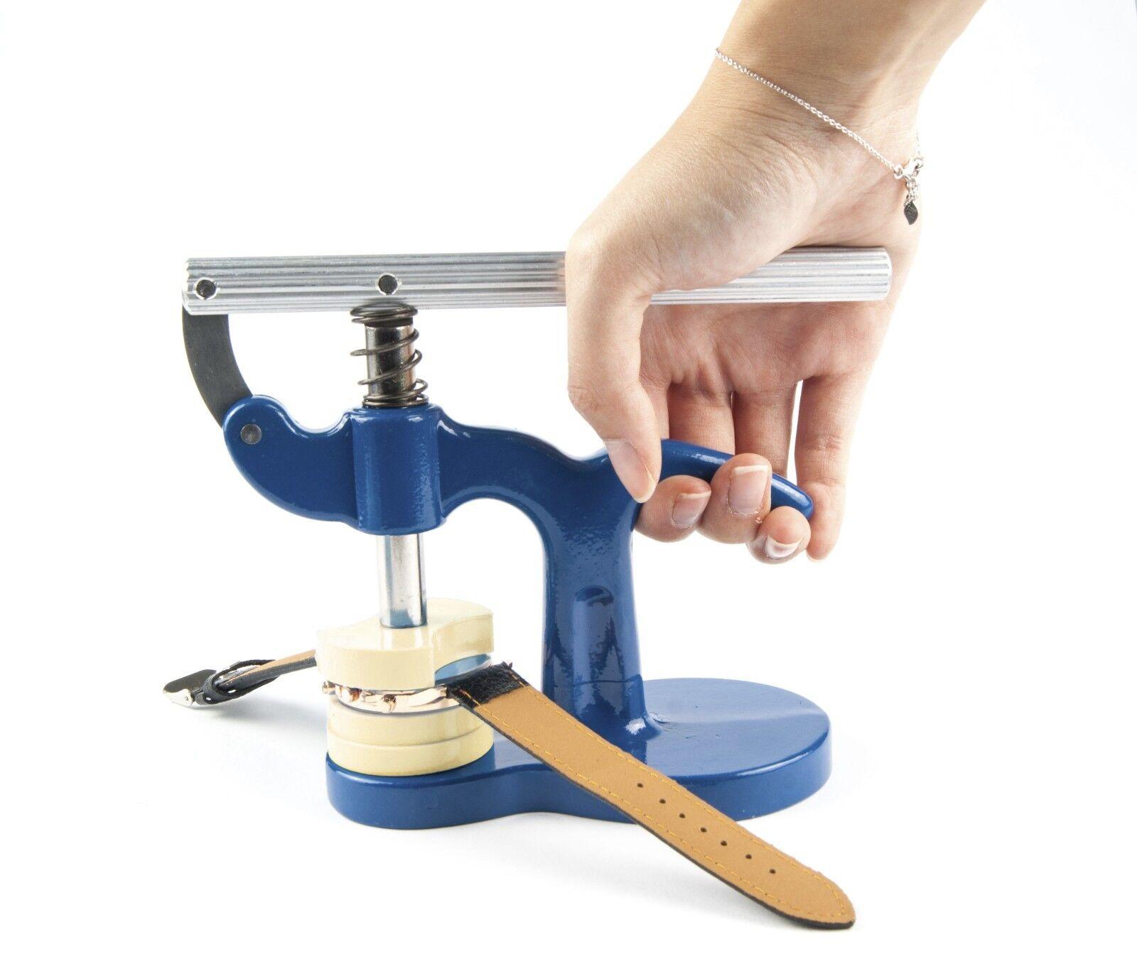 Einpresswerkzeug Gehäuseschließer Uhrendeckelpresse Uhrenschließer Uhrenwerkzeug