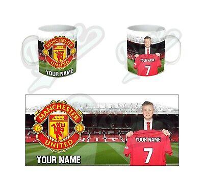 Personalised Manchester United FC Mug United Fc Mug
