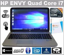 HP ENVY 15 Quad Core i7, 8GB,1 TB HDD, Win 10, Office 2013 Highland Park Gold Coast City Preview