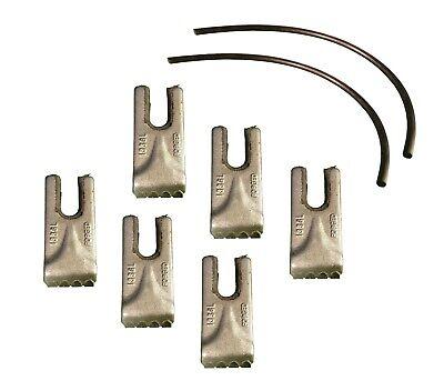 6- Pengo Carbide Auger Teeth W Rubber Quick Locks- Cs Ag Aggressor- 140016