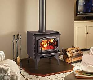 Lopi Answer Freestanding Wood Heater - As New Bella Vista The Hills District Preview