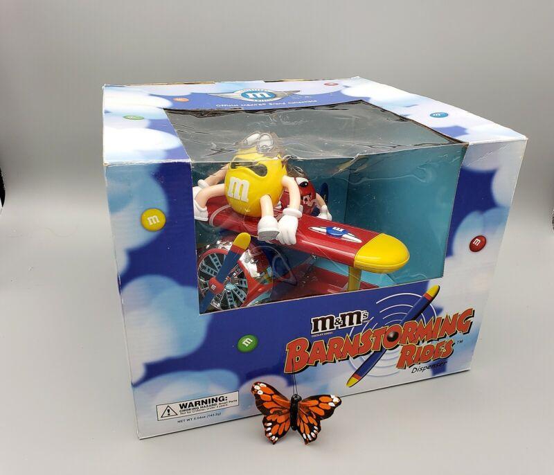 M&M Barnstorming Rides Dispenser 2008 Limited Edition Mars Candies ORIGINAL BOX