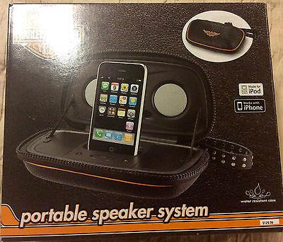 Harley Davidson Portable Speaker System-ship free