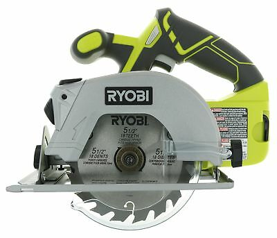 Ryobi P506 One Lithium Ion 18v 5 12 Inch 4700 Rpm Cordless Circular Saw With