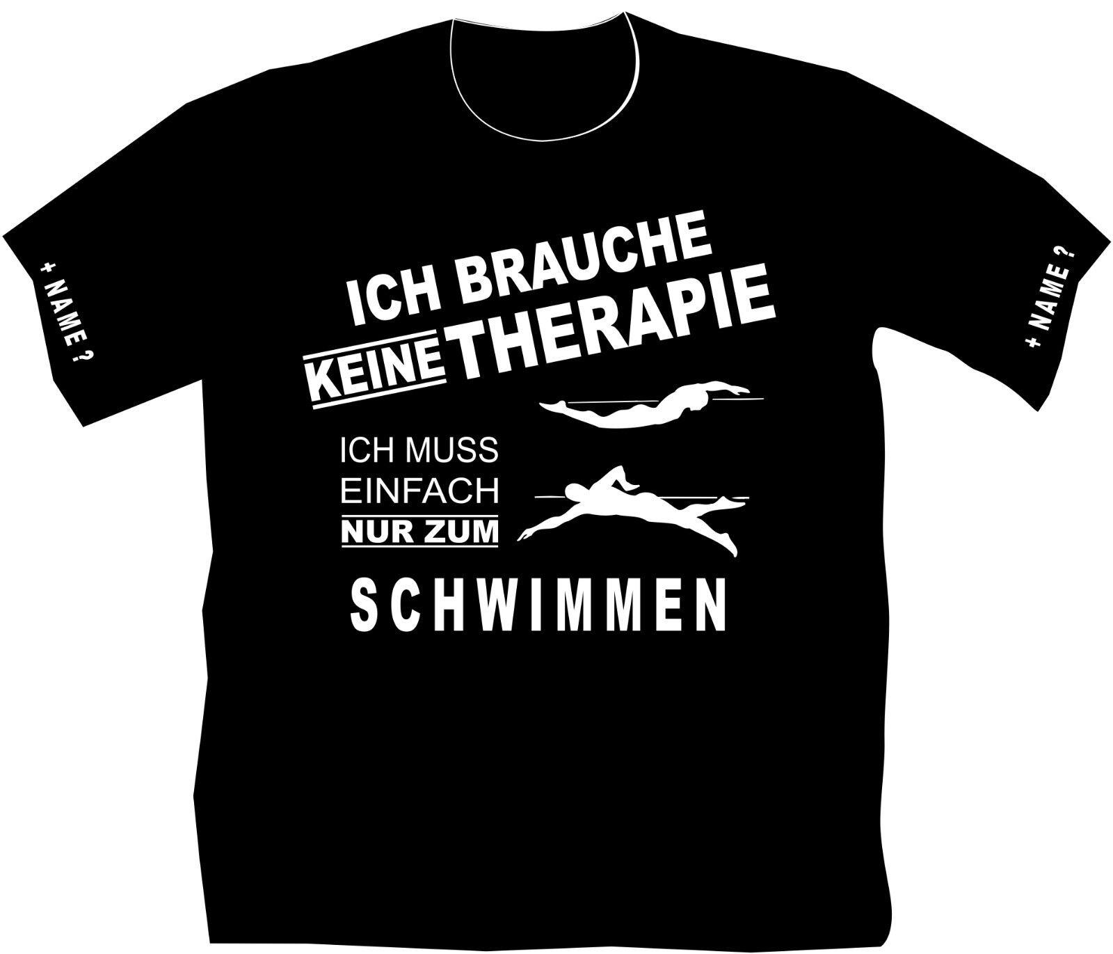 T-Shirt Schwimmen Schwimmsport Funshirt Training Kraulen Schmetterling Brust 20