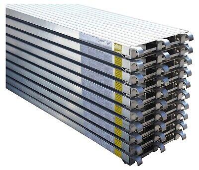 Cbm Scaffold 10 All Aluminum Walk Board Deck Platform 7 L X 19 W 75 Lbs Sq.ft